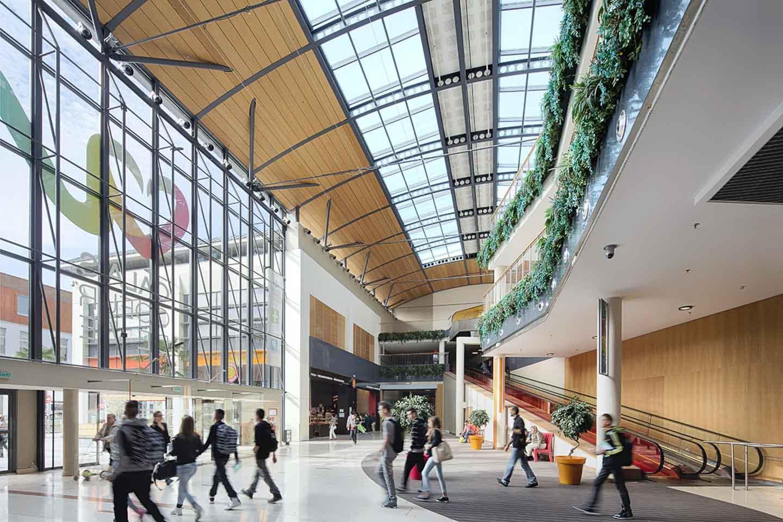 Centre commercial coeur de vie