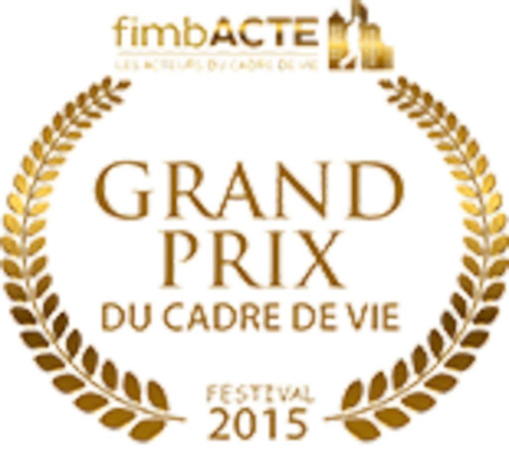 Grand prix du cadre de vie festival 2015