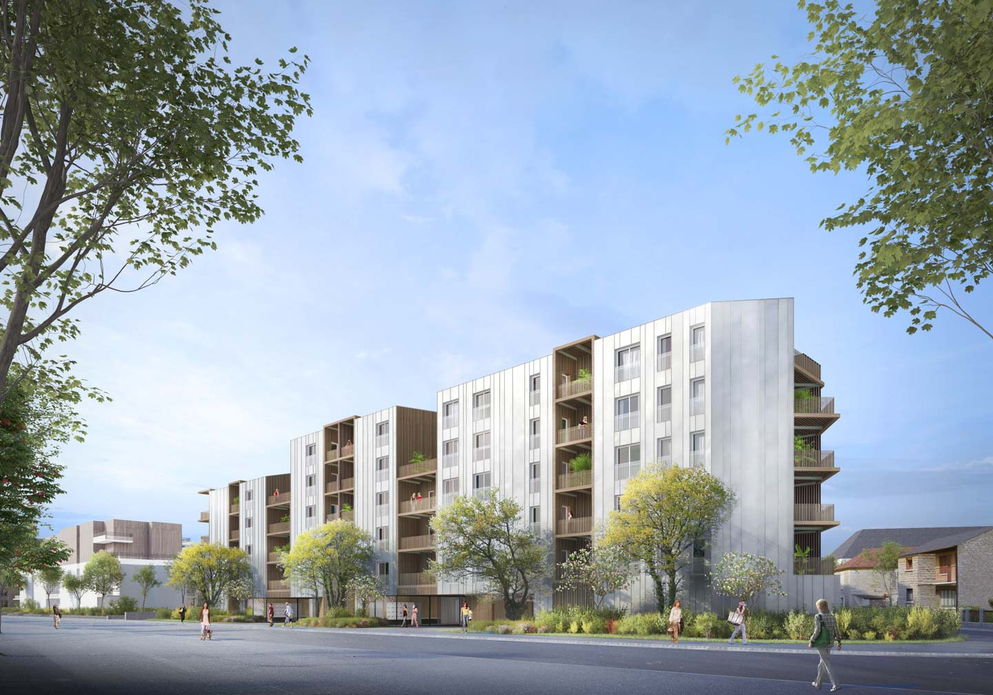 Caen logements collectifs ICF Atlantique
