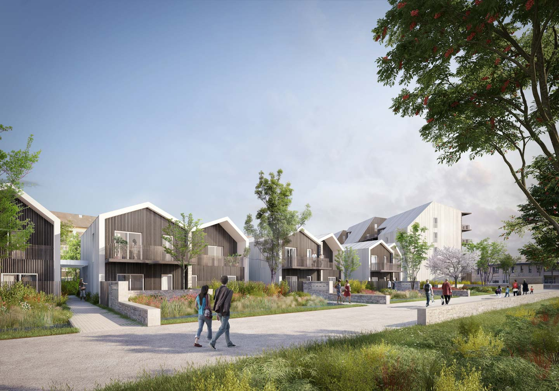 Caen logements intermédiaires ICF Atlantique