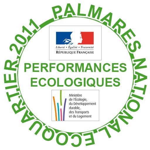 MNS3-PERFORMANCES ECOLOGIQUES PALMARES ECOQUARTIER 2011